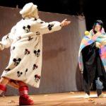 Szene aus dem Stück Seidenstraße der Theatergruppe Blaue Blume